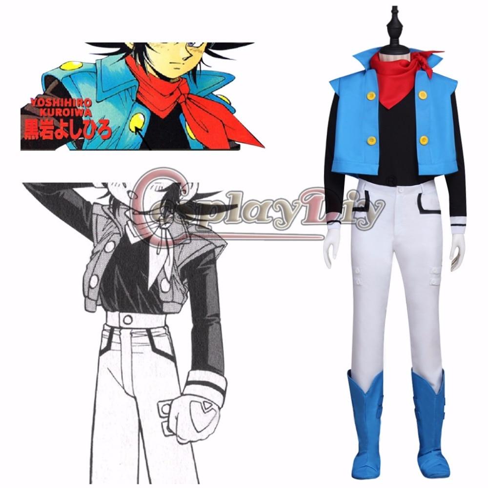 Custom Made Anime ZENKI Magik Dragon Costume Cosplay Men's Halloween&Cosplay Party Costume