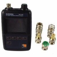 VHF/UHF цветной графический векторное сопротивление антенный анализатор KVE520A с 5 разъемами рации аксессуары J6558A