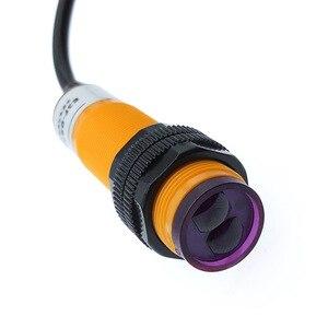 Image 1 - E3F DS30C4 קרבה מתג הפוטואלקטרי חיישן מתג NPN PNP 30 cm זיהוי טווח מתכוונן E3F DS30P1/P2/B2
