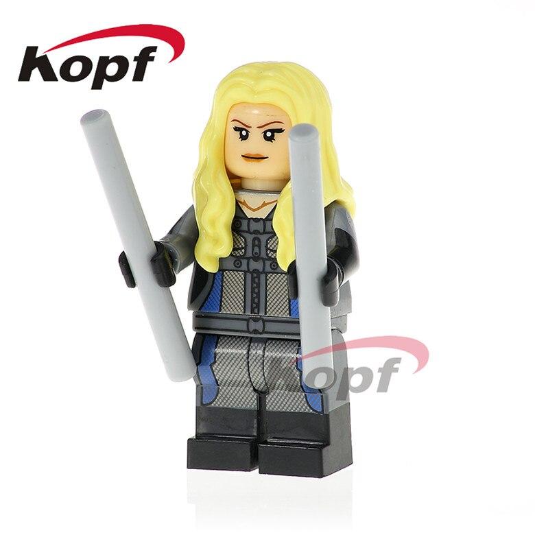 50Pcs XH 784 Super Heroes Mockingbird Phil Goulson Jemma Simmons Melinda May Building Blocks Bricks Model For Children Gift Toys