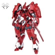 Comic Club in Stock Auldey A TYPE Mg 1/100 Rosso di Notte Dussack Assemblare Robot Action Figure Giocattolo