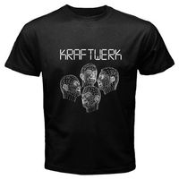 Elegant Men T Shirt Fashion New Kraftwerk Musique Non Stop Robots Human Devo Men S T