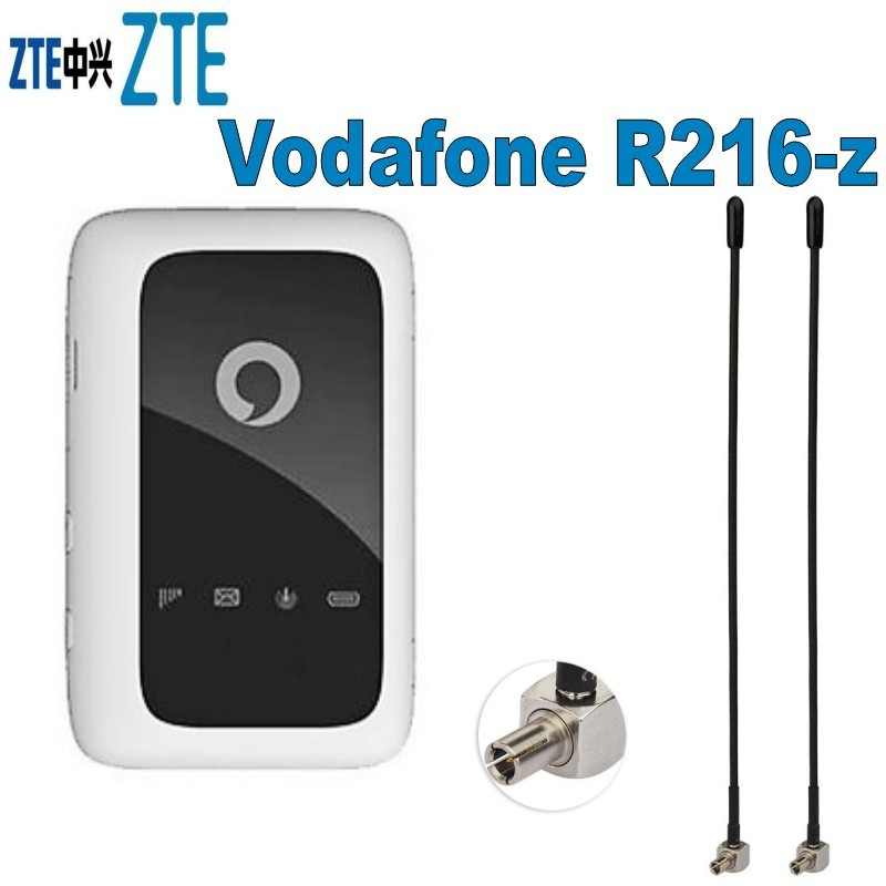 ZTE Unlocked Vodafone R216-z Pocket Wifi Plus Pair Antenna 4G LTE R216 Router PK