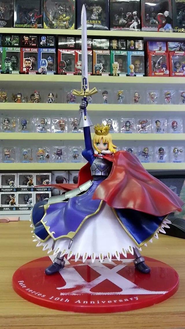 Nouveauté 18 cm nuit Sebastian couronne la reine sabre destin du destin PVC modèle jouets figurine d'action