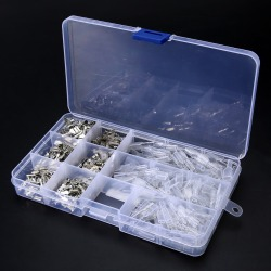 270pcs 2.8/4.8/6.3mm Insulated Electrical Wire Crimp Terminal Spade Connector Assortment Set