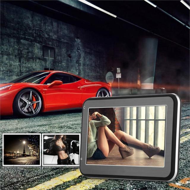 Nueva venta de 4.3 pulgadas HD Pantalla Táctil de Coches de Navegación GPS 4 GB + libre de Europa Mapa de la Ayuda FM Music Video Navigator Vehículo tk102b