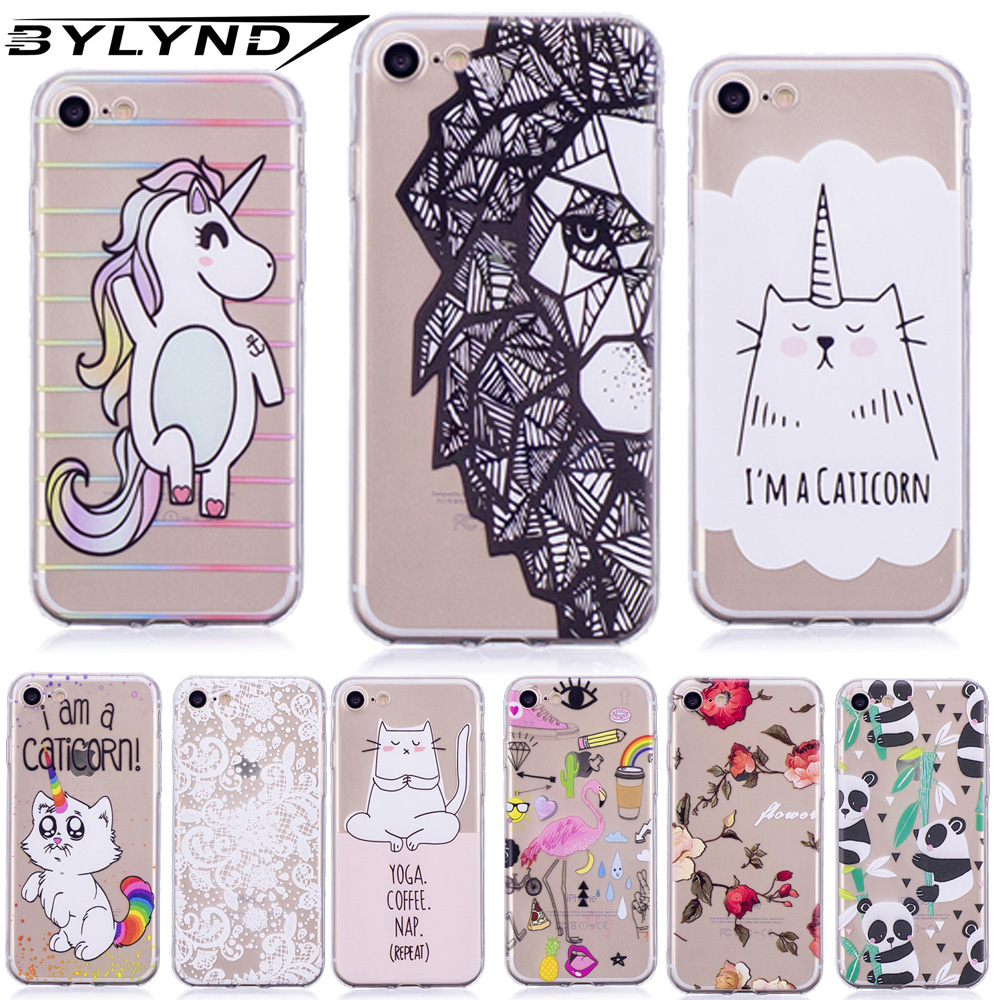 Silicon case for Apple iphone 7 8 back cases for iphone 8 iphone7 iphone8 TPU soft cover colors animal pattern capa phone Coques iphone xr case magnetic