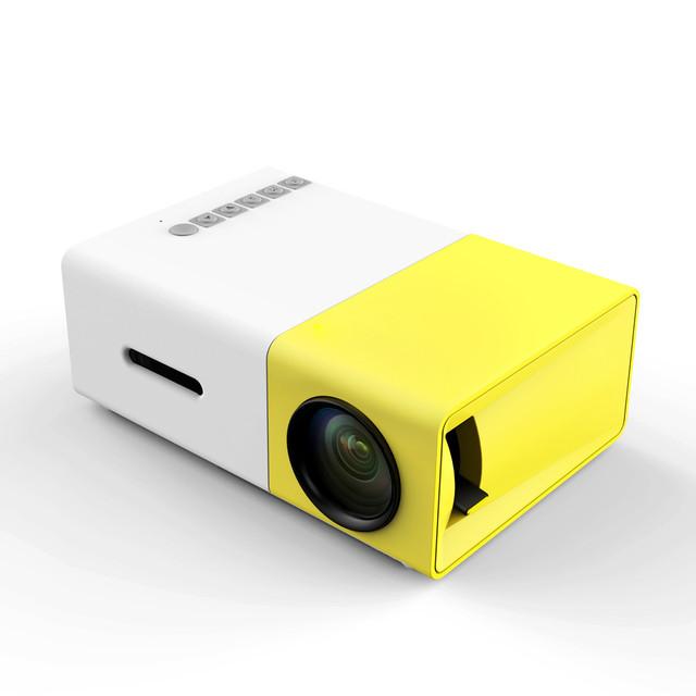 2016 Nuevo Mini Proyector Portátil Proyector Full HD 1080 P tv led proyector Multimedia Home Theater para Cine En Casa # EC