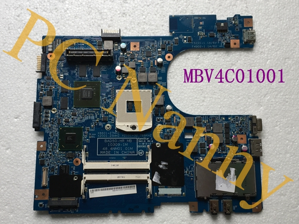 MBV4C01001 48.4NM01.01M For Acer Aspire 6593 Laptop Motherboard Intel QM67 with Nvidia graphic card S989