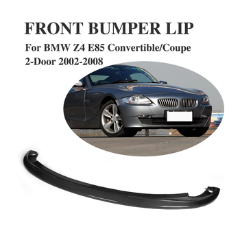 Carbon Fiber Front Lip Chin Spoiler for BMW Z4 E85 Convertible / Coupe 2-Door 2002-2008 image