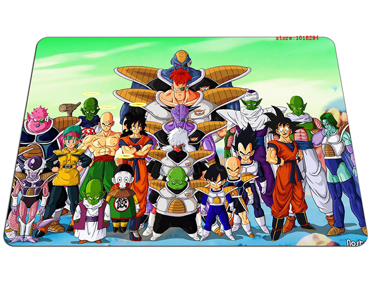 Dragon Ball mouse pad large mousepad laptop Dragon Ball Z mouse pad gear notbook computer anime gaming mouse pad gamer