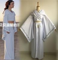 Star Wars Cosplay Queen Padme Amidala costume set Halloween Fancy dress