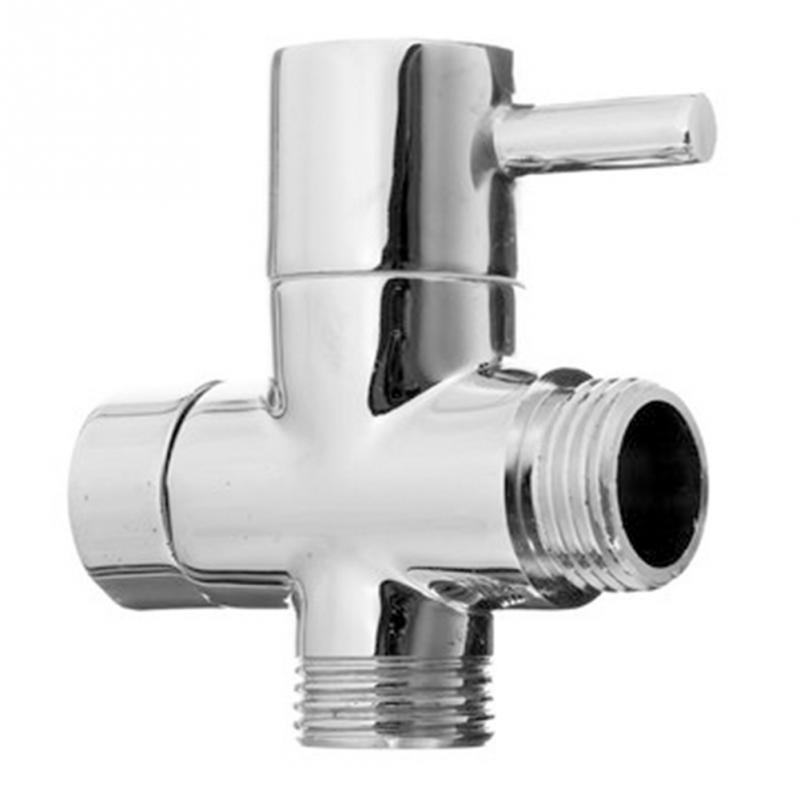 3 way diverter brass kitchen bathroom accessories angle valve for toilet sink basin water heater angle valves - Kitchen Sink Diverter Valve