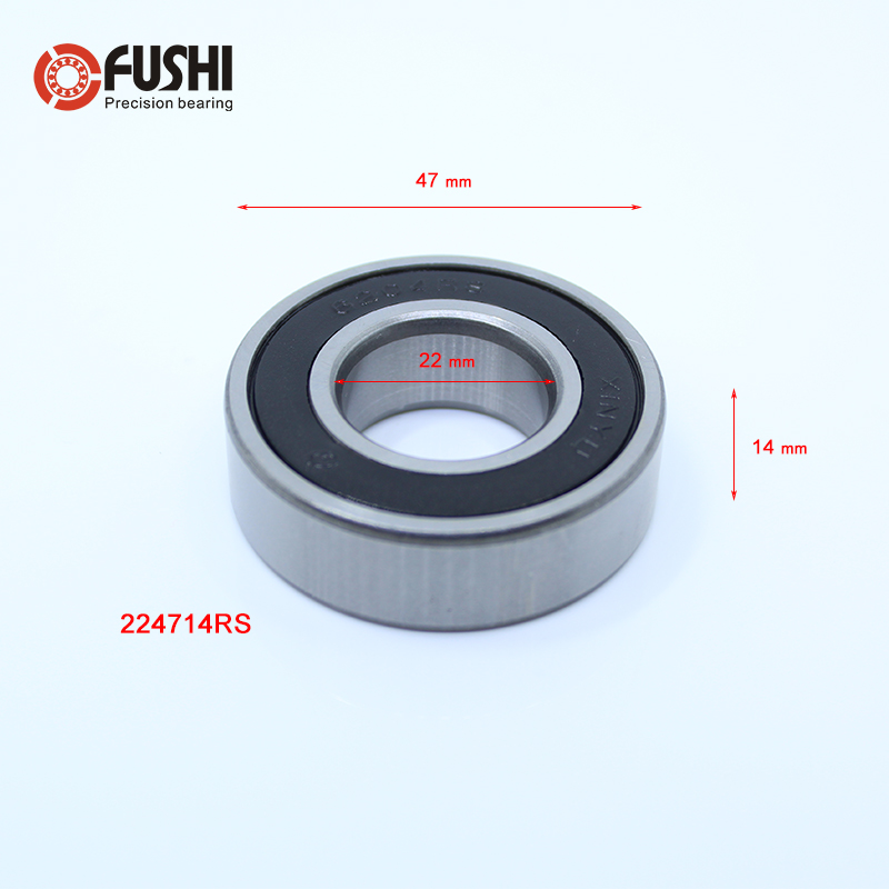 Roller-Skating Skateboard Seals 6000RS Deep Groove Ball Bearing 26 x 10 x 8mm