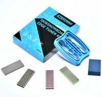 XCMAN Alpine Freeride Snowboard Rand Bevel Tuning Kit Rand Care Kit-Seite Ski Winkel Werkzeug + 3 diamanten Datei + Gummi stein