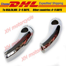 motorcycle parts Handlebar Risers for  Yamaha  Cruisers Choppers Metrics Victory Chromed