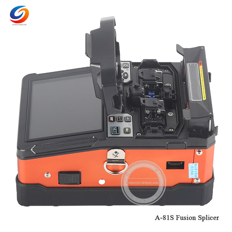 Дешевый FTTH волоконно-оптический сварочный аппарат для сращивания A-81S сварочный аппарат для сращивания с 9 секундами Время сращивания