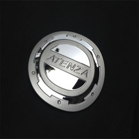 Tank Cover For 2012 2013 2014 2015 Mazda6 ATENZA Stainess Steel Chrome Fuel Cap Gas Silver