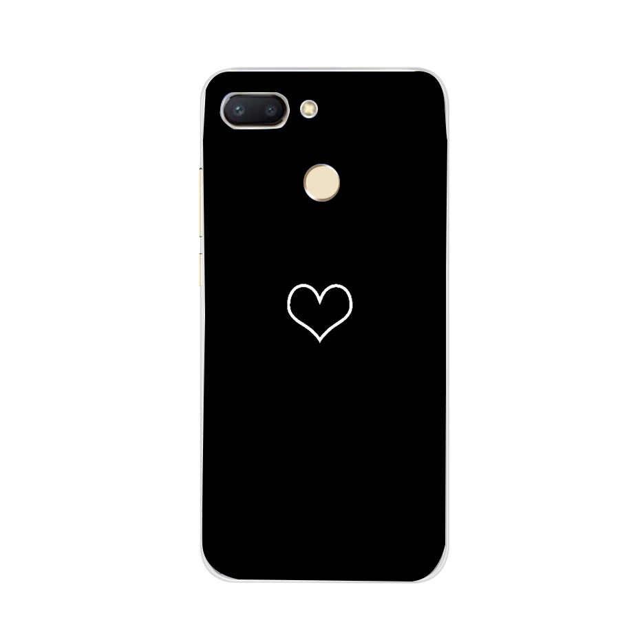 סיליקו כיסוי עבור Xiaomi Redmi 6 מקרה יוקרה טלפון פגזים עבור Xiaomi Xiomi Redmi6 Redmi 6 6A 4A 5A הערה 5 4 7 פרו 4X Fundas Coque