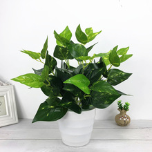 Artificial Plants Green Turtle Leaves Garden Home decor 1 Bouquet Mexican Autumn Decoration artificial grass plant