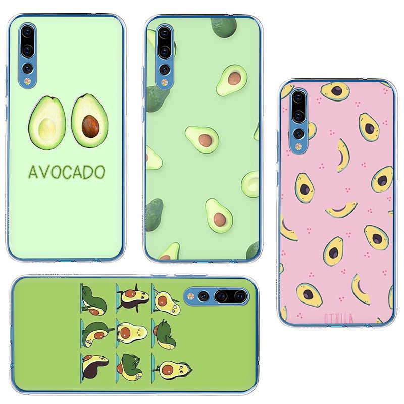 Bella frutta avocado Carino Cassa del telefono Duro per Huawei Honor 6A 6C 7A Pro 7C 7X 8C 8X8 9 10 Lite Gioco vista 20 9X Pro