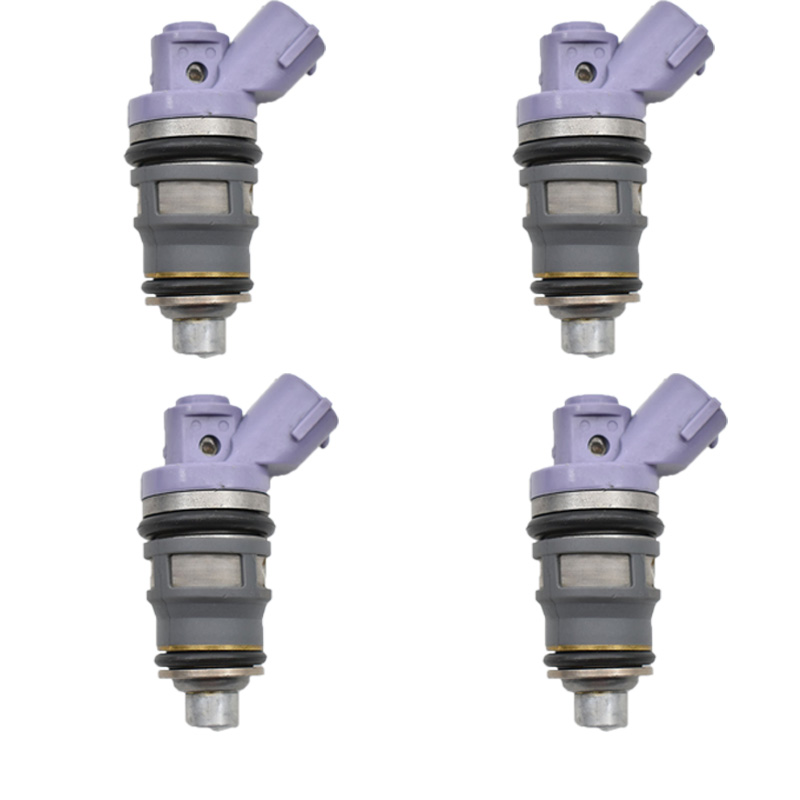 4pc lot 23250 76010 23209 79045 23209 76010 Fuel Injector Nozzle For 1991 1997 Toyota Previa