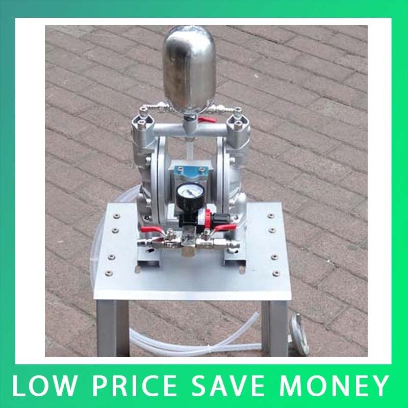 35L/min Aluminum Alloy Paint Pneumatic Diaphragm Pump Mini Air Diaphragm Pump original ingersoll rand model 666120 344 c aluminum alloy aro pneumatic diaphragm pump