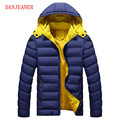 Thick Warm Men Winter Coat 2016 Hot Fashion Jacket Cotton Coat Men Parka  Homme Leisure Wear High Quality Plus Size  Parka Men