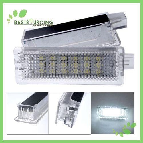Оптовая Бесплатная доставка 5 пар/лот яркий Белый 18 СМД из светодиодов номерной знак свет лампы для BMW E63 и e64 Е81 Е87 Е90 E91