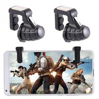 Mobile Game Controller Fire Button Aim Key Finger Press Accurate Mobile Phone Game Triggers Shooter L1R1