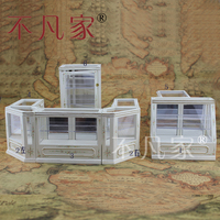 Dollhouse 1/12th Scale Miniature furniture Hand painted Store display cabinet set