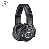 Original Audio Technica ATH M40x Professional Monitor Headphones Over ear Headsets HiFi Foldable Earphones w/ Detachable Cables