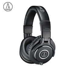 Original Audio Technica ATH-M40x Professional Monitor Headphones Over-ear Headsets HiFi Foldable Earphones w/ Detachable Cables
