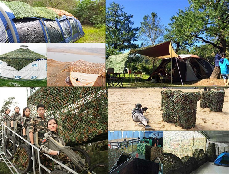 Military Camouflage Net Camo Netting Army Decoration Nets Shade Mesh Hunting <font><b>Car</b></font> Garden <font><b>Outdoor</b></font> Camping Sun Shelter Tarp <font><b>Tent</b></font> image
