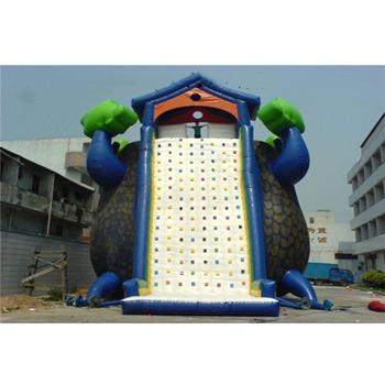 Trwała dmuchana ściana wspinaczkowa dla aduts tanie i dobre opinie Dla dorosłych XZ-CW-026 Durable inflatable climbing wall for aduts 0 5mmPVC L12*W6*H8m 110-220v Large Outdoor Inflatable Recreation