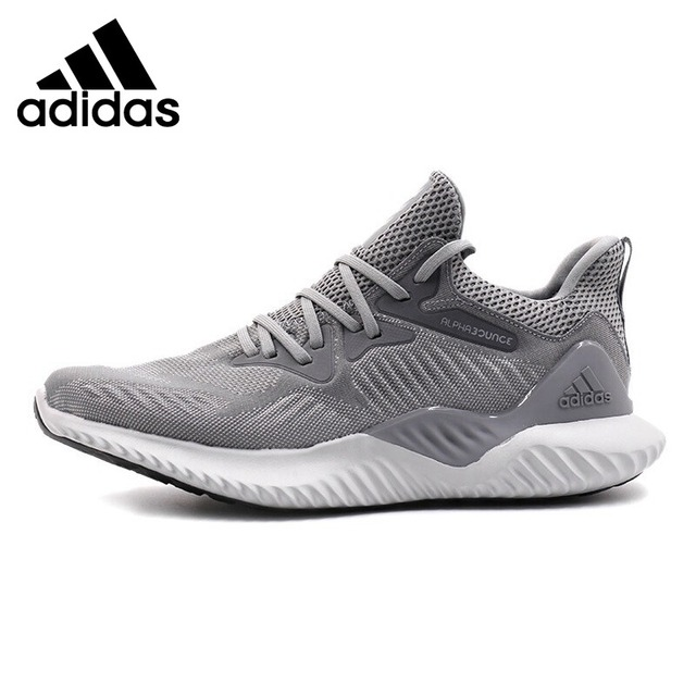e1fd53278 Official Original Adidas Alphabounce Beyond M Men s Running Shoes Low Top  Bounce Sneakers Breathable Cushioning Leisure BW1247