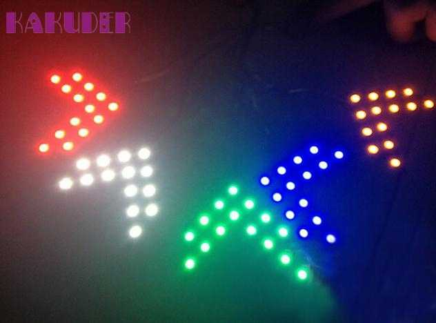 Auto car-styling car styling led out-light 14 SMD LED Arrow Panel For Car Rear View Mirror Indicator Turn Signal Light mar07