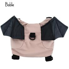 1 pcs New Baby Child Kids Toddler Bat Walking Safety Harness Rein Backpack Walker Buddy Strap Bag