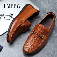 Handmade Genuine Leather Mens Shoes Luxury Design Men Loafers Fashion Brand Business Casual Comfort Male Moccasins