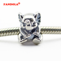 Lucky Elephant Charm Fits Pandora Bracelet Authentic 925 Sterling Silver Jewelry FL399 Not On Stock Yet