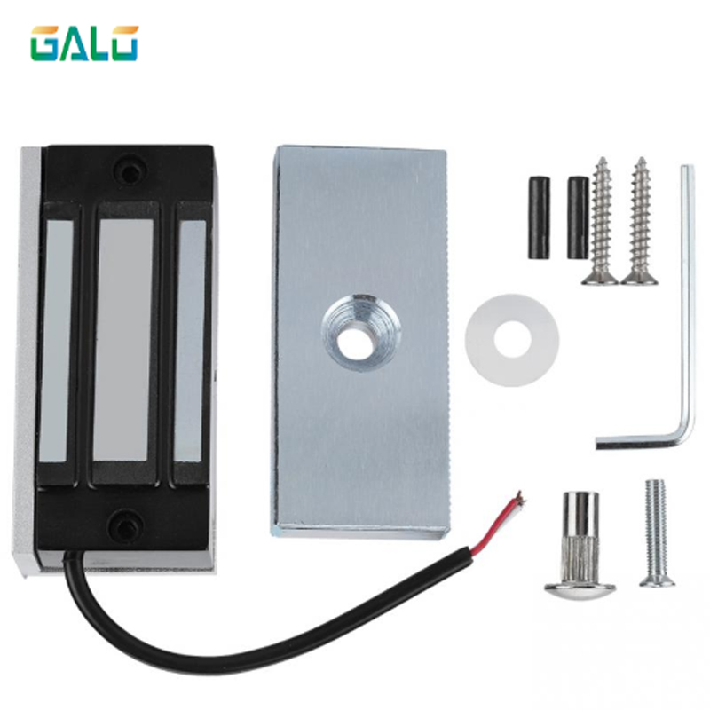 12V 60kg Electronic Electric Magnetic Lock Fail Safe DC EM Locks Holding Force Electromagnetic Mini M60 For Door Entry Access