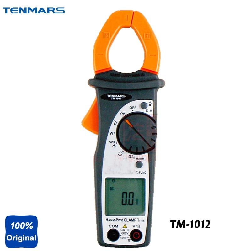TM-1012 AC Clamp Meter,Test Ranges: ACV, ACA, DCV, Resistance, Diode, Continuity Tester tm 1005 digital ac clamp meter ac transducer with aca output 1 400mv tm1005