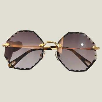 Vintage Rond Sunglasses 2018 New Double Bridge Sunglasses Women Brand Designer High Quality Oculos De Sol Masculin Eyewear - DISCOUNT ITEM  20% OFF All Category