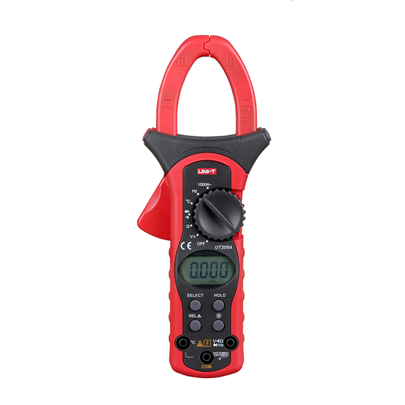 1000A Digital Clamp Meters UNI-T UT206A  Multimeter Voltage Current Testers