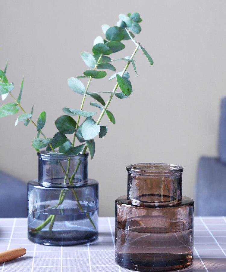 Small Multi-Color Terrarium Flower Vase