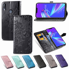 Luxury flip cover for Google pixel 3 XL 3A embossed mandala phone case