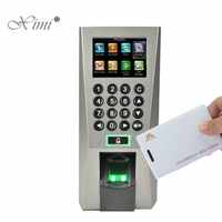 ZK F18 Biometric Fingerprint And RFID Card Access Control System With Keypad TCP/IP Door Access Controller And Time Attendance