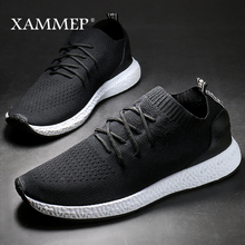 Men Casual Shoes Brand Men Shoes Men Sneakers Male Flats Slip On Mesh Loafers Breathable Big Size 45 46 Spring Autumn Xammep