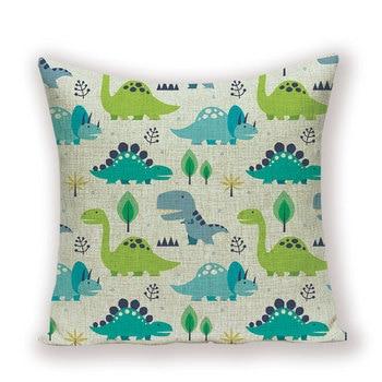 Dinosaur Pillow Throw 1