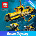 Lepin 24012 Creative The Underwater Explora Ship Set Funny Children Educational Building Blocks Bricks Plan Toys Model 4888 Gift